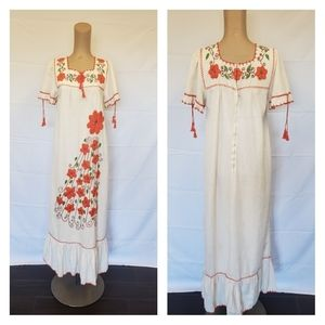 Mexican 1970's Dress